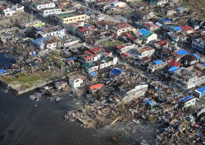 Foto aeree tifone Haiyan - Filippine