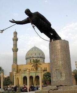 SaddamStatue